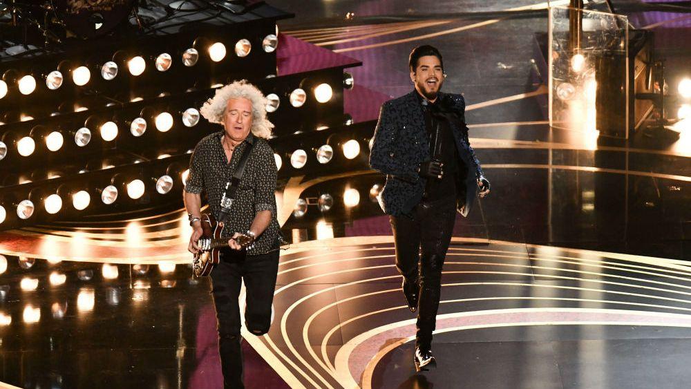 Oscars 2019 Adam Lambert and Bryan Adams